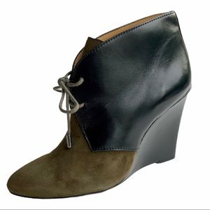 COACH Mercy wedge ankle boots. SZ 7.5.
